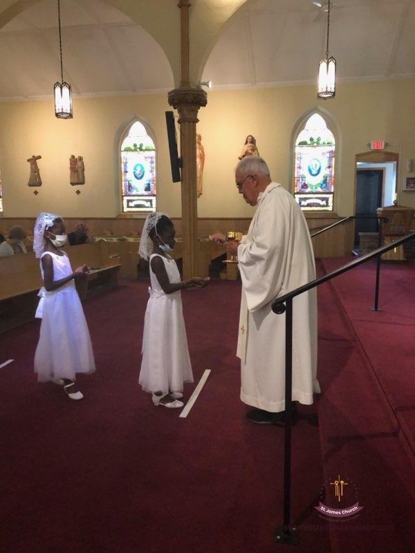 1st Communion June 20, 2020